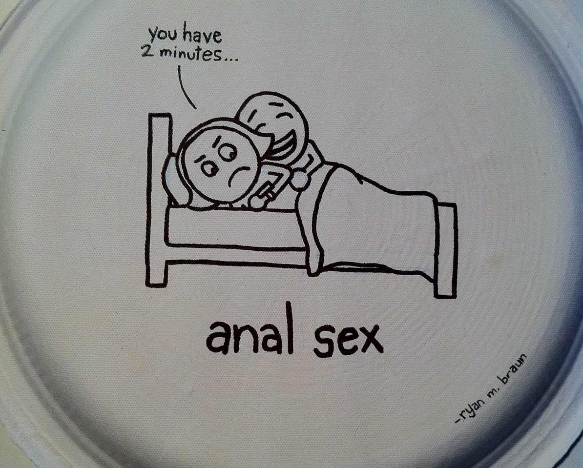 AnalSexPaperPlate